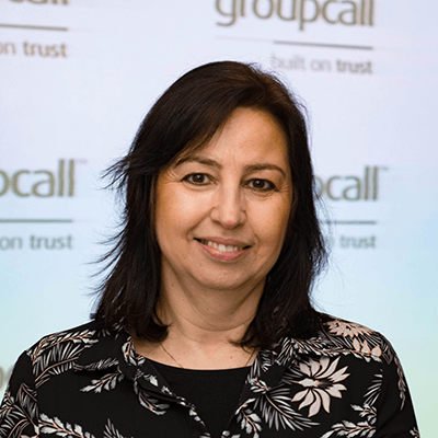 Groupcall's Office Manager - Diane Segal