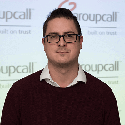 Groupcall's Head of Products - Graham Reed