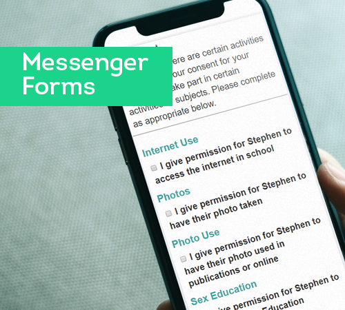 groupcall-messenger-forms
