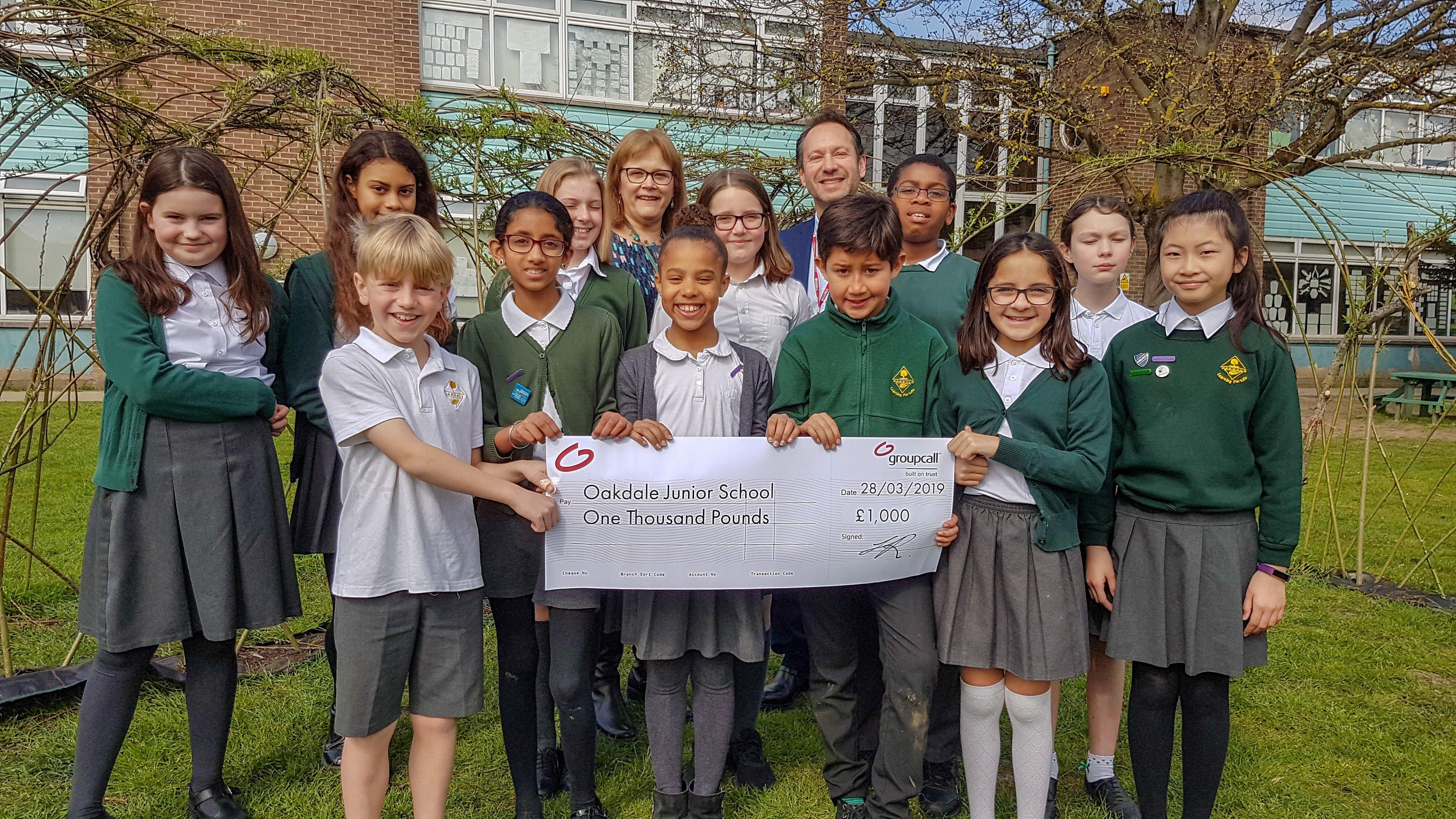 Oakdale Junior School Bett cheque (5)_edited