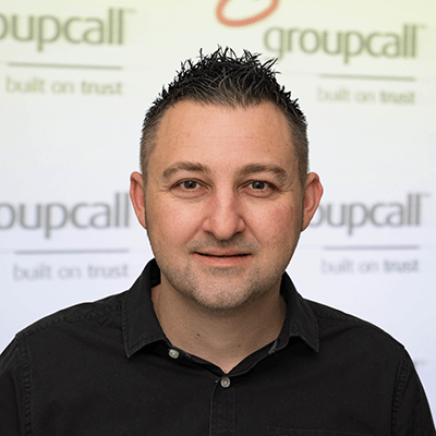 Groupcall's Commercial Operations Manager - Paul Wilmott