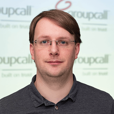 Groupcall's Chief Technology Officer - Tim Verlander