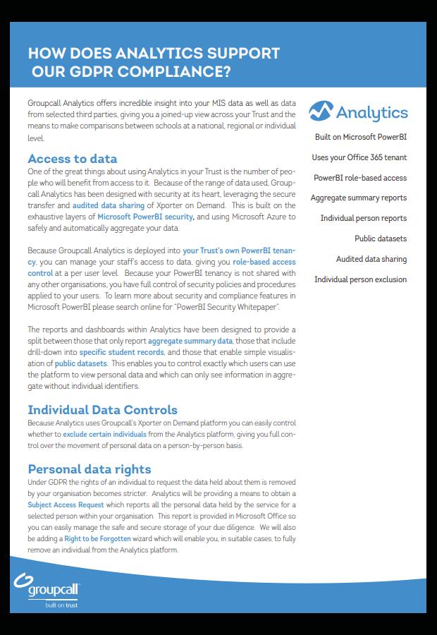 Groupcall Analytics Download