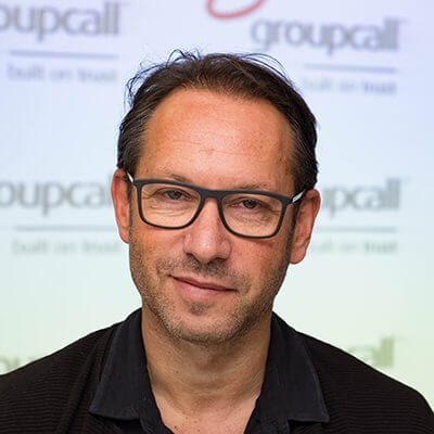 Groupcall's Chief Executive Officer - Lawrence Royston