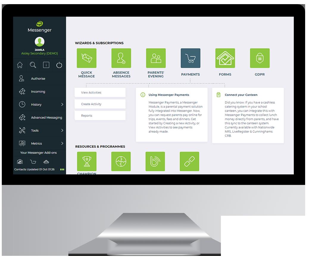 messenger-payments-dashboard