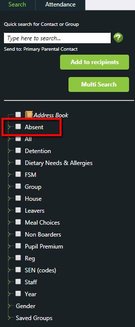 Absence and Detention Alerts | Messenger